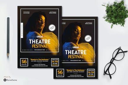 Theatre Festival - Flyer AC
