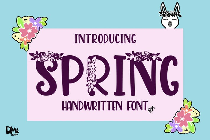 Thumbnail for Spring Handwritten Font