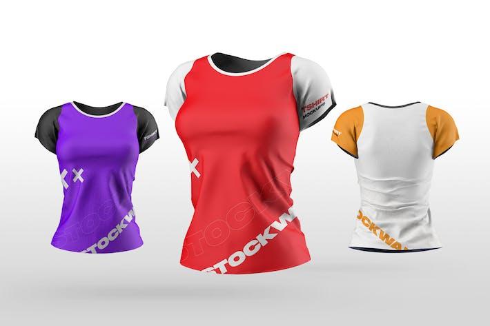 Women's T-Shirt Mockups