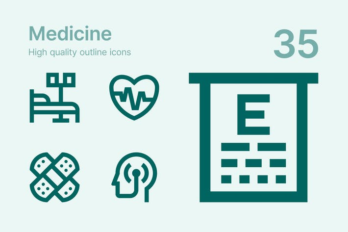 Thumbnail for Medicine icons