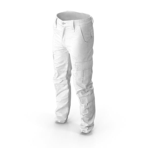 Thumbnail for Military Pants Desert White