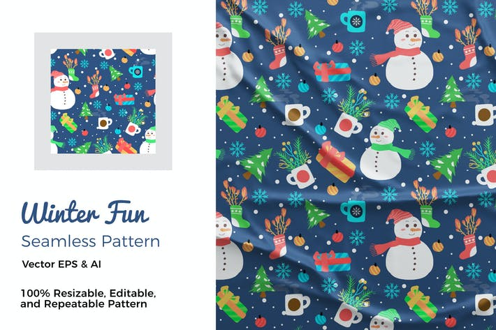Thumbnail for Winter Fun Pattern