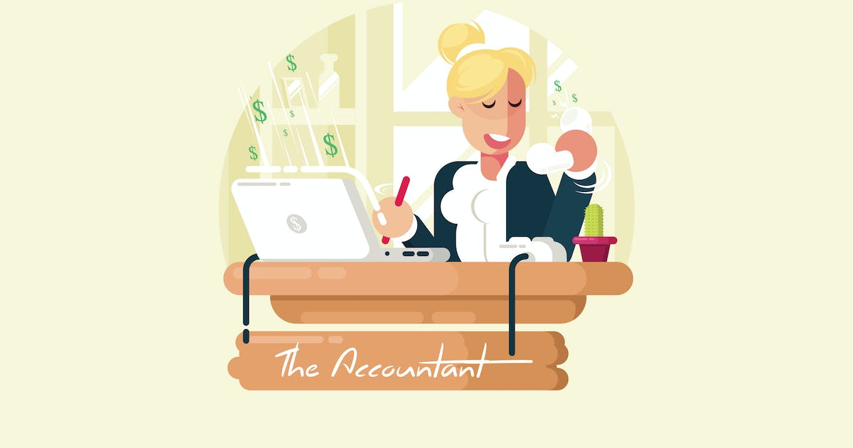 Download The Accountant - Vector Activity by aqrstudio
