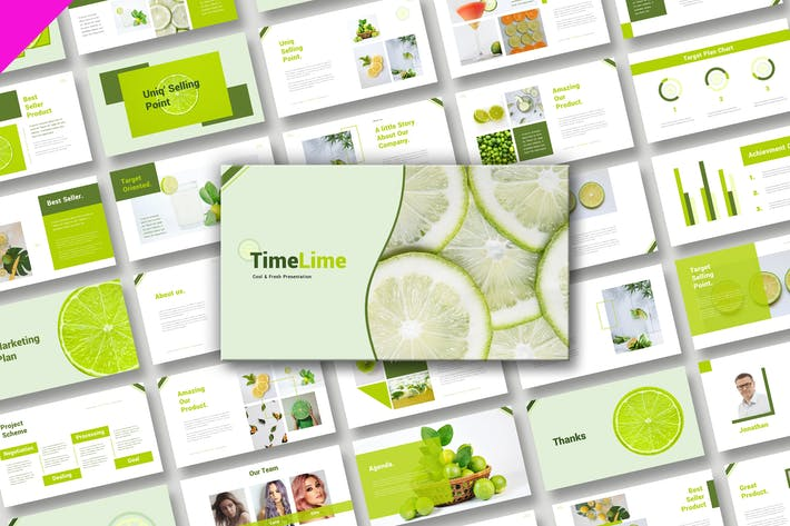 TimeLine Cool Fresh Presentation