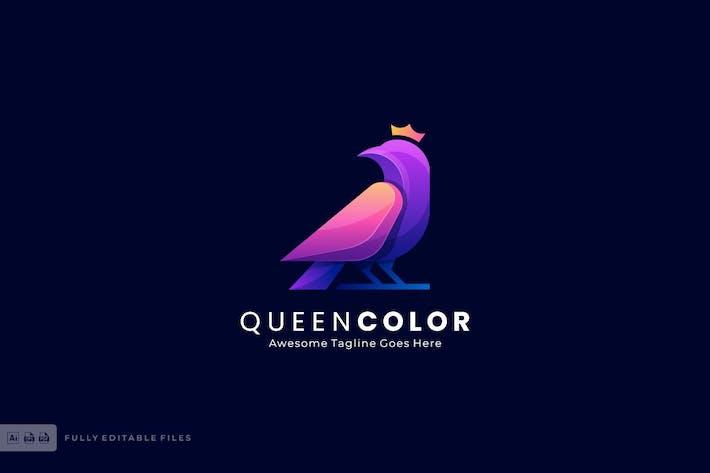 Thumbnail for Шаблон логотипа «Королева птица»