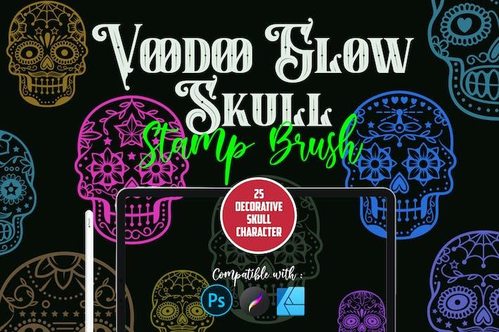 Voodoo Glow Череп | Штамп