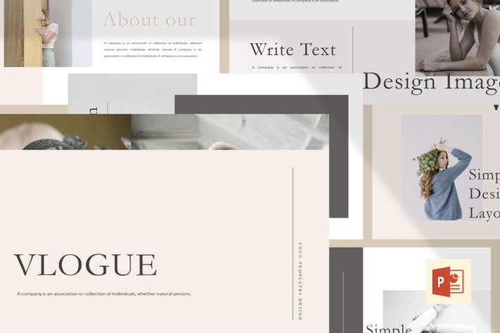 Thumbnail for Vlogue - Multipurpose PowerPoint Template