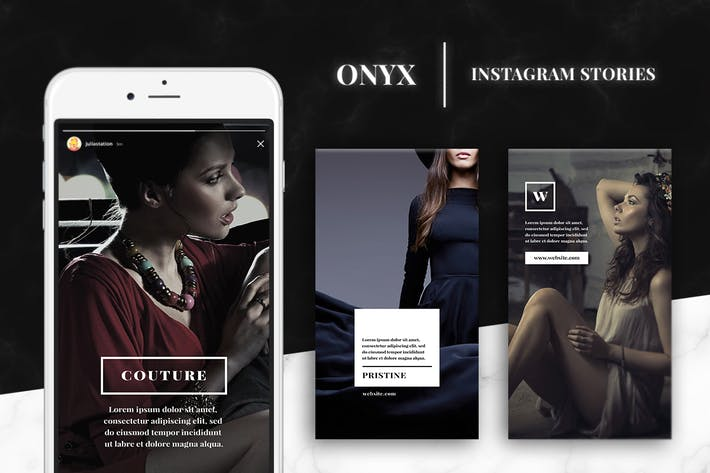 Thumbnail for Onyx- Instagram Story Templates