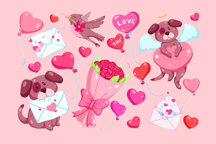 Thumbnail for Mein Valentinstag Clipart