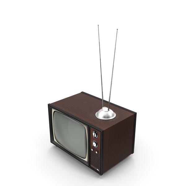 Старое винтажное телевидение