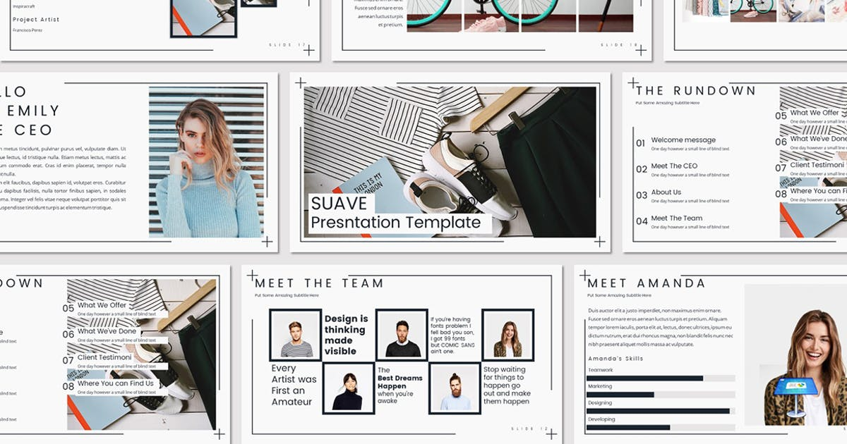 SUAVE - Keynote Template by Unknow