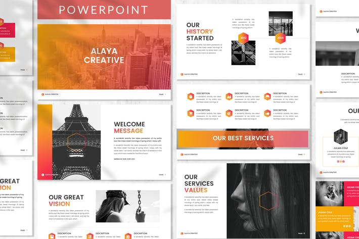 Thumbnail for Alaya - Business Powerpoint Template
