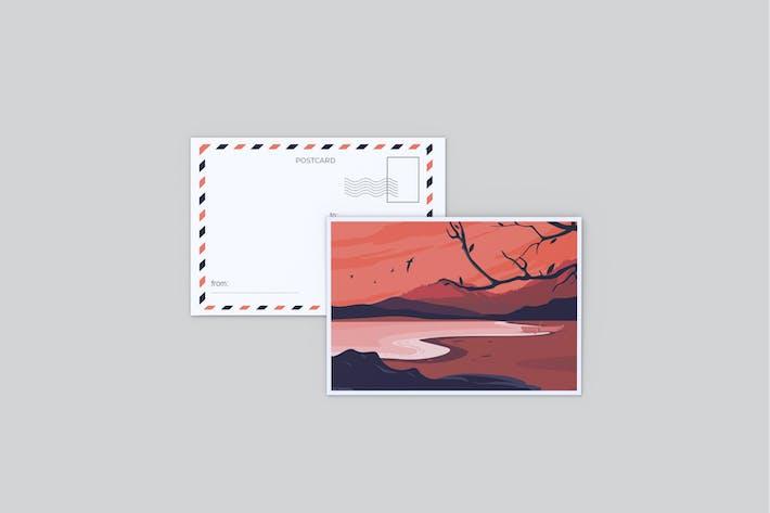 Thumbnail for Postcard Mockup V1