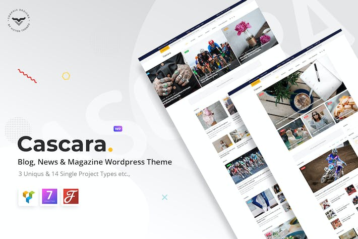 Thumbnail for Cascara - Blog, News & Magazine WordPress Theme