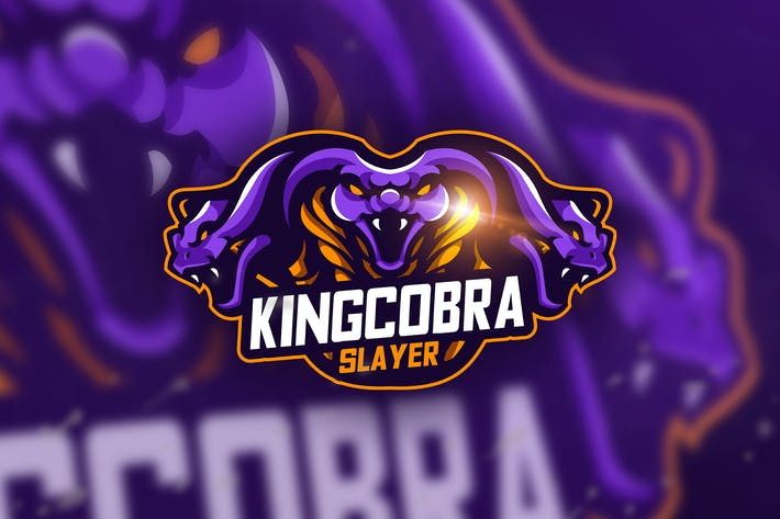 Thumbnail for King Cobra Slayer - Mascot & Esport Logo