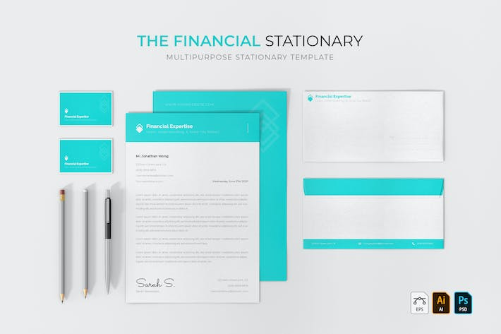 Thumbnail for Financial | Stationary