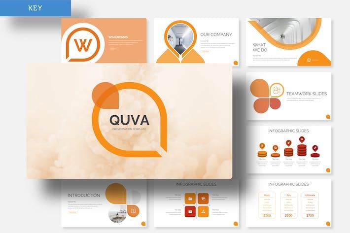 Thumbnail for Quva - Keynote Template