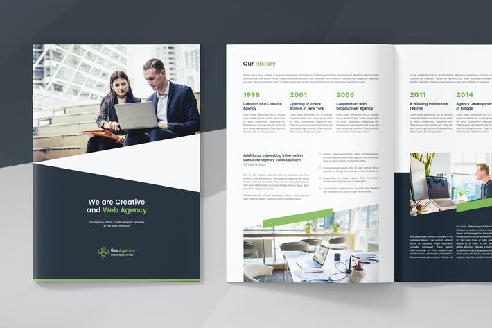 Thumbnail for Web Agency – Company Profile