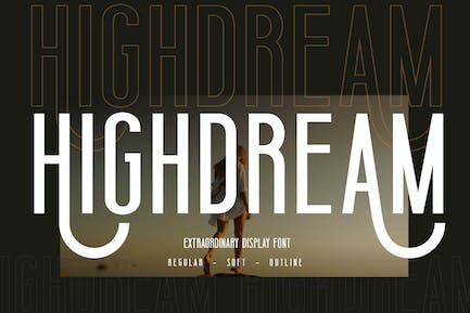 Highdream Business Font