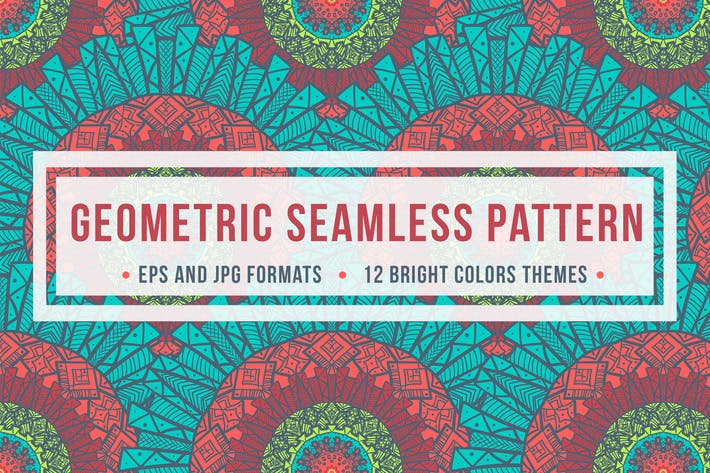 Thumbnail for Geometric Seamless Pattern