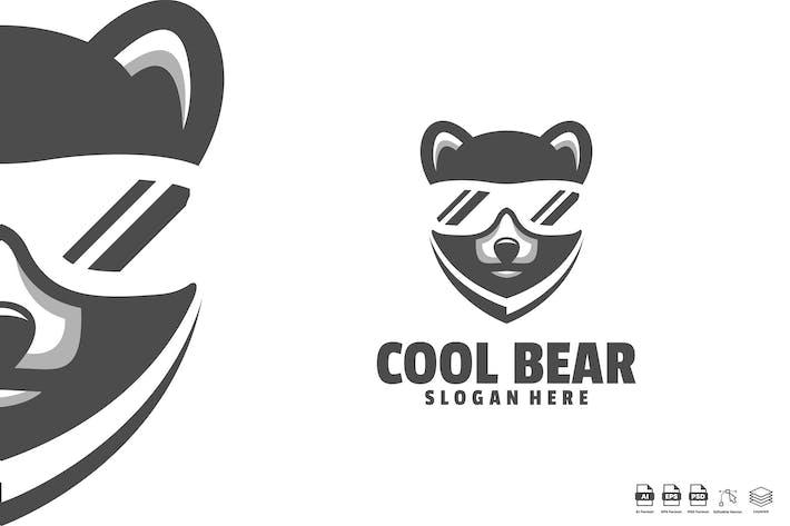 Thumbnail for cool bear logo template