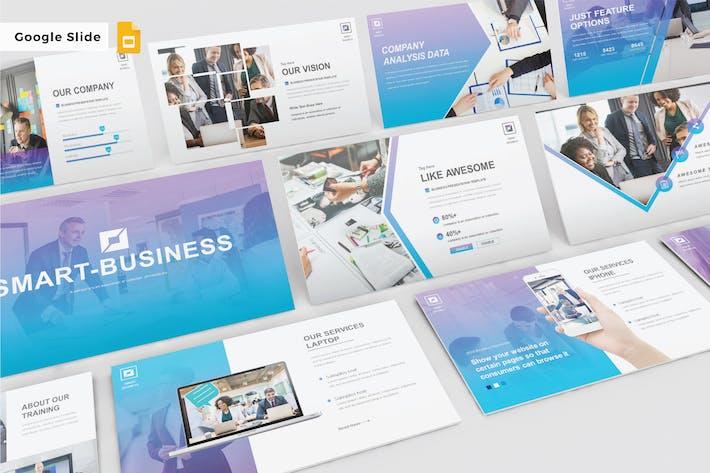 Thumbnail for Умный бизнес - Слайд Google V303