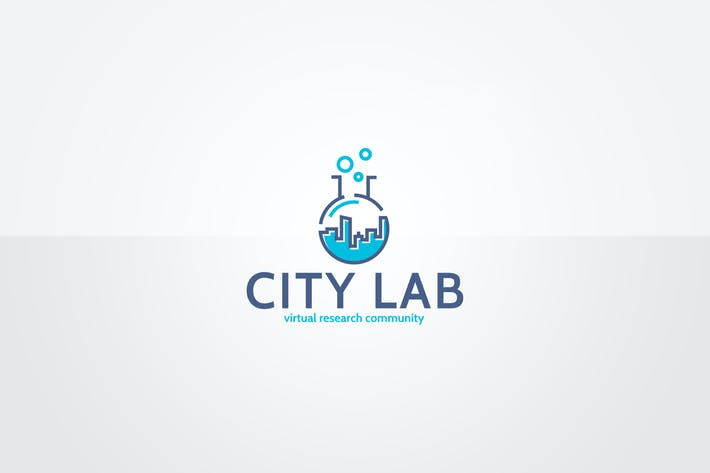 Thumbnail for City Lab Logo Template
