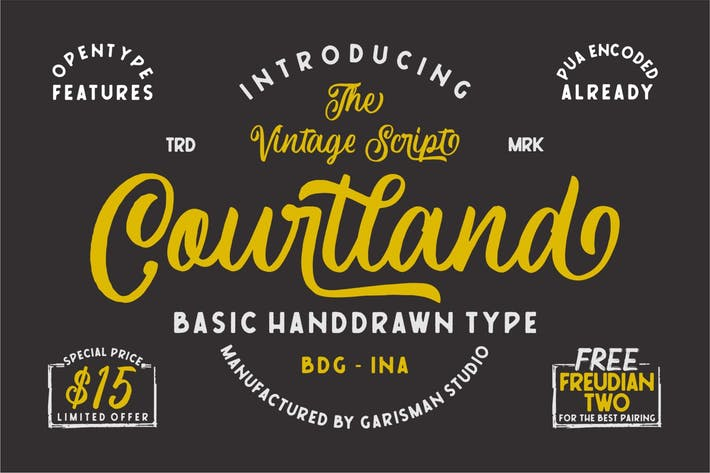 Thumbnail for Courtland | Fuente Retro