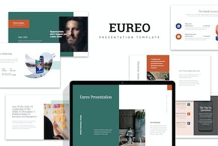 Eureo : Mobile Marketing Proposal Google Slides