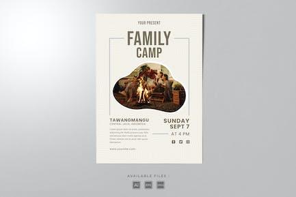 Familiencamp Plakat