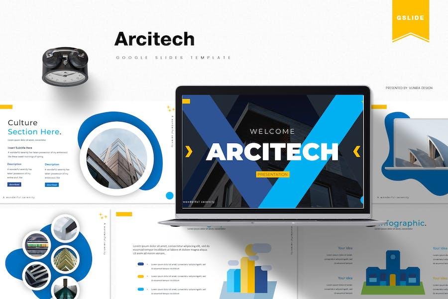 Arcitech | Google Slides Template