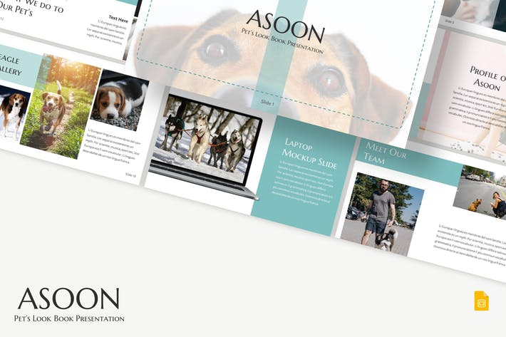 Thumbnail for Asoon - Google Slides Template