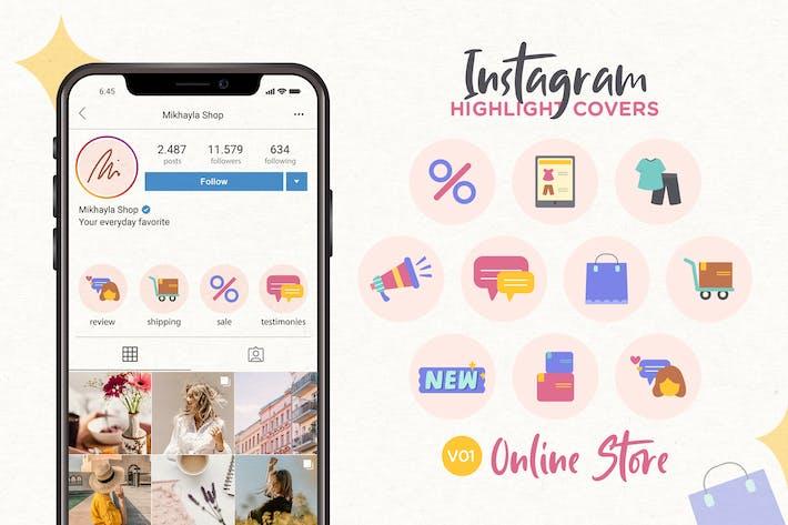 Thumbnail for Instagram Highlight Icon V01 Online Store
