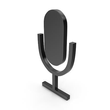 Microphone Black Icon