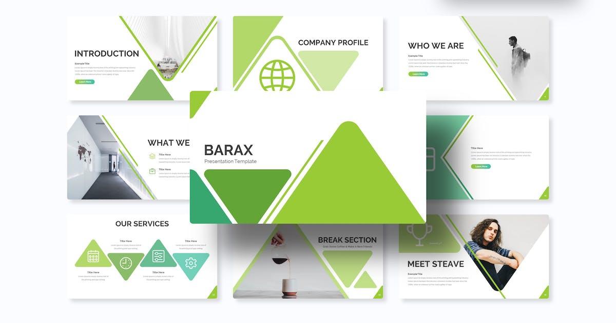 Download Barax - Keynote Template by IanMikraz