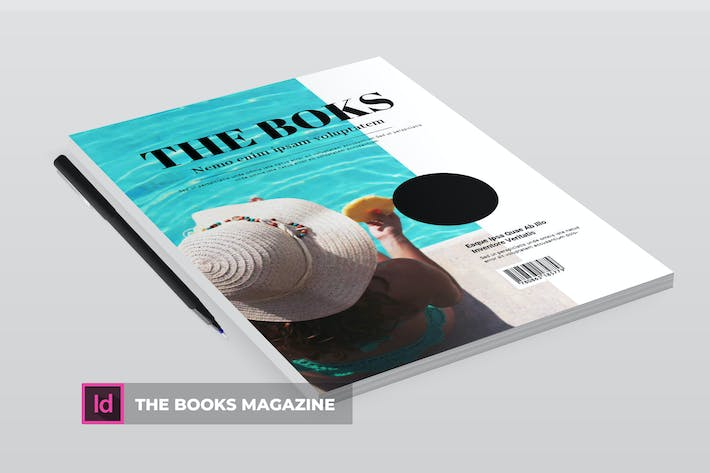 Thumbnail for The books | Magazine Template