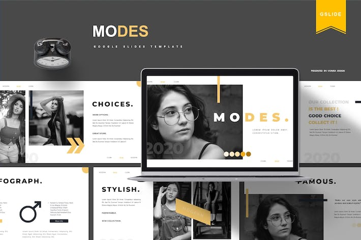 Thumbnail for Modes | Google Slides Template