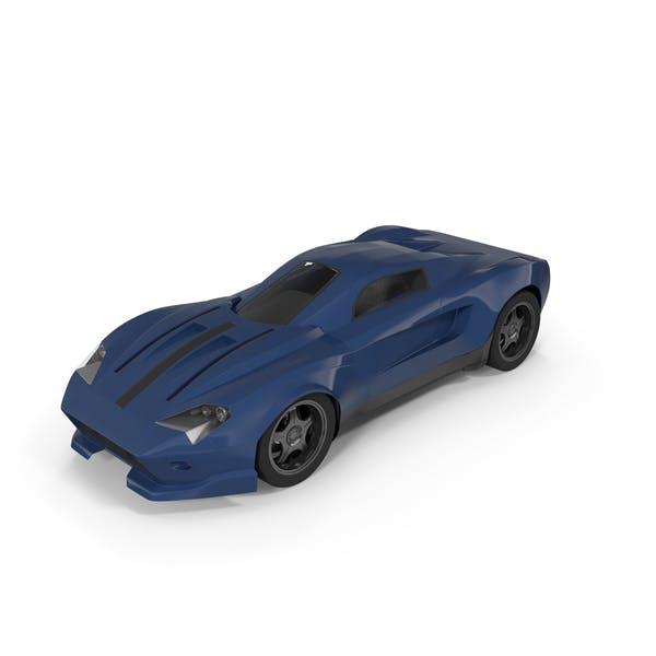 Thumbnail for Sports Car Blue
