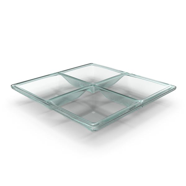 Thumbnail for Glass 4 Compartment Bowl