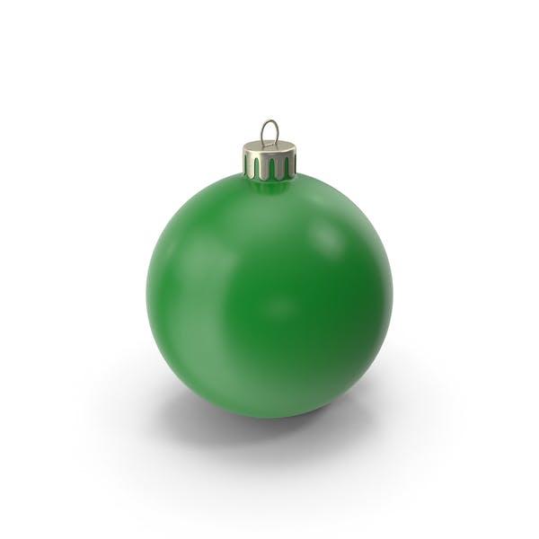 Рождественский орнамент темно-зеленый