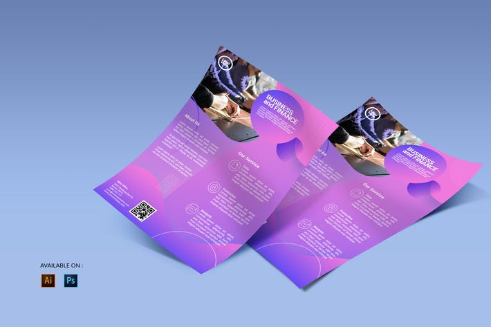 Thumbnail for Business Financial - Flyers Design