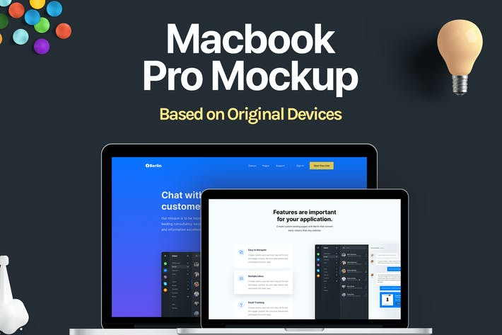 Thumbnail for Macbook Pro Mockup de Apple