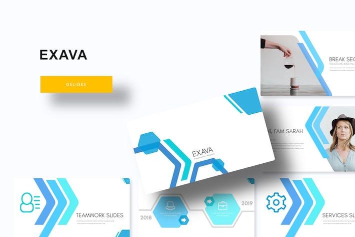 Thumbnail for Exava - Google Slide Template