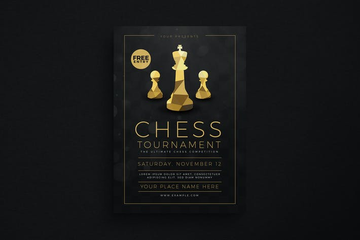 Thumbnail for Chess Tournament Event flyer