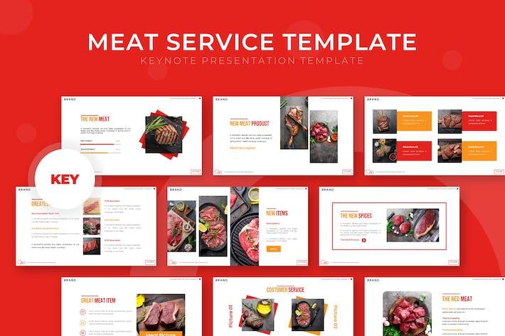 Meat Service - Keynote Template