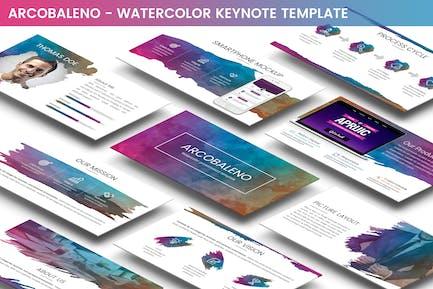 Arcobaleno Keynote Template