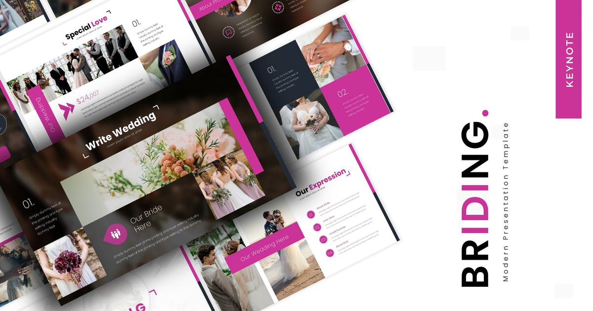 Download Briding - Keynote Template by vincentllora