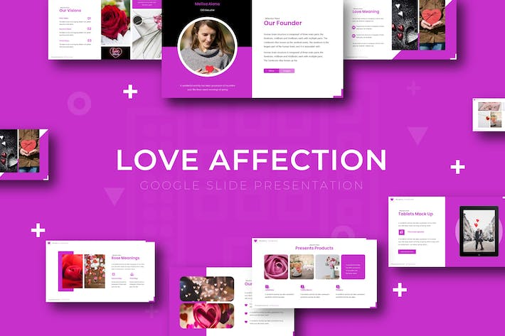 Thumbnail for Love Affectio - Keynote Template