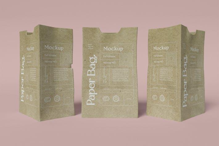 Paper Bag mockup