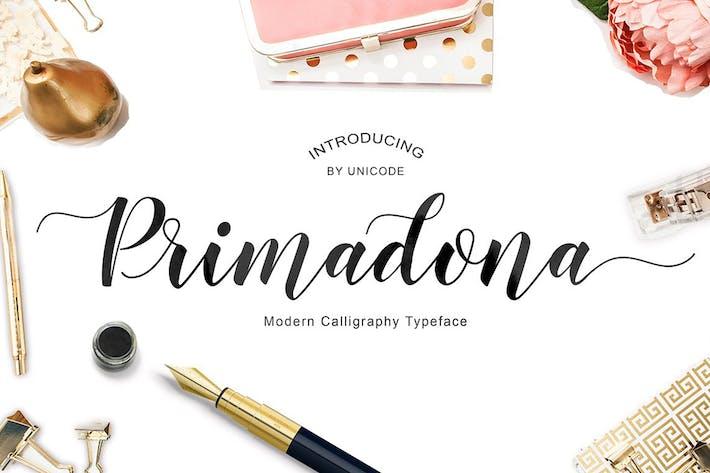 Thumbnail for Primadona Script